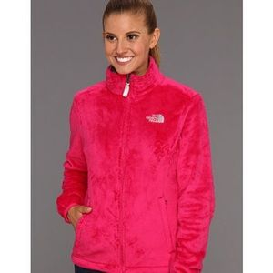 The North Face passion pink osito jacket